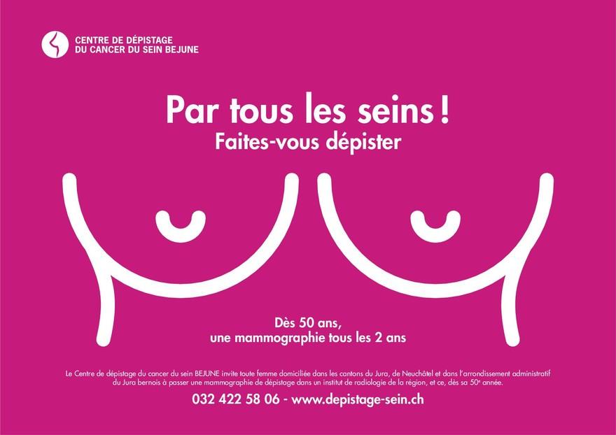 """Résultat de recherche d'images pour """"cancer du sein et campagne par tous les seins"""""""