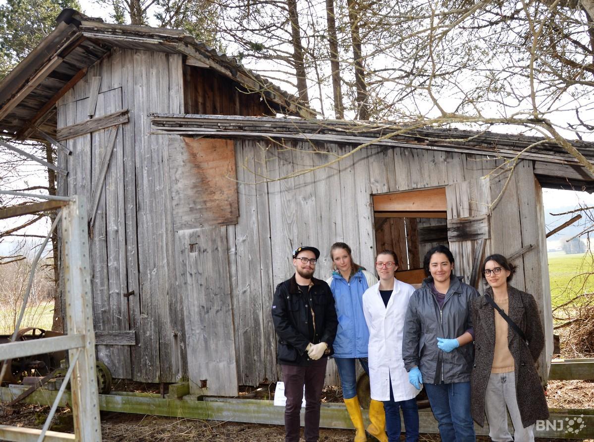 Lquipe Dtudiants En Conservation Restauration De La Haute Ecole Arc Devant