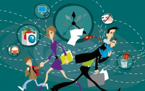 Jongler entre vie de famille, travail et loisirs