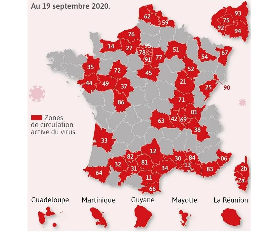 Covid En France Pas De Grands Changements Pour Les Jurassiens Rfj Votre Radio Regionale